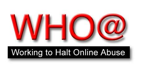 Working to Halt Online Abuse logo